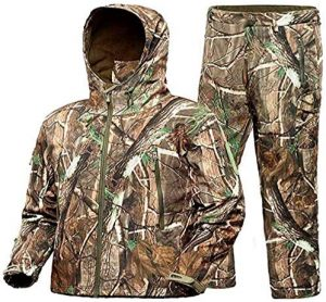 ADAFAZ Water Resistant Hunting Suit
