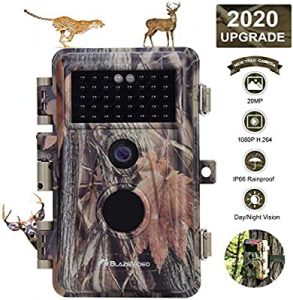 BlazeVideo Password Protected Game Trail Camera