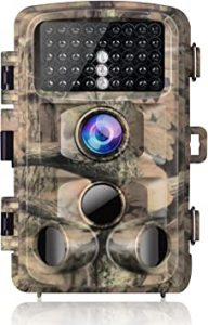 Campark Waterproof Motion Activated Night Vision Trail Camera