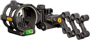 Peak 5 Pin Bow Sight by Trophy Ridge (Best Hunting Bow Sight)