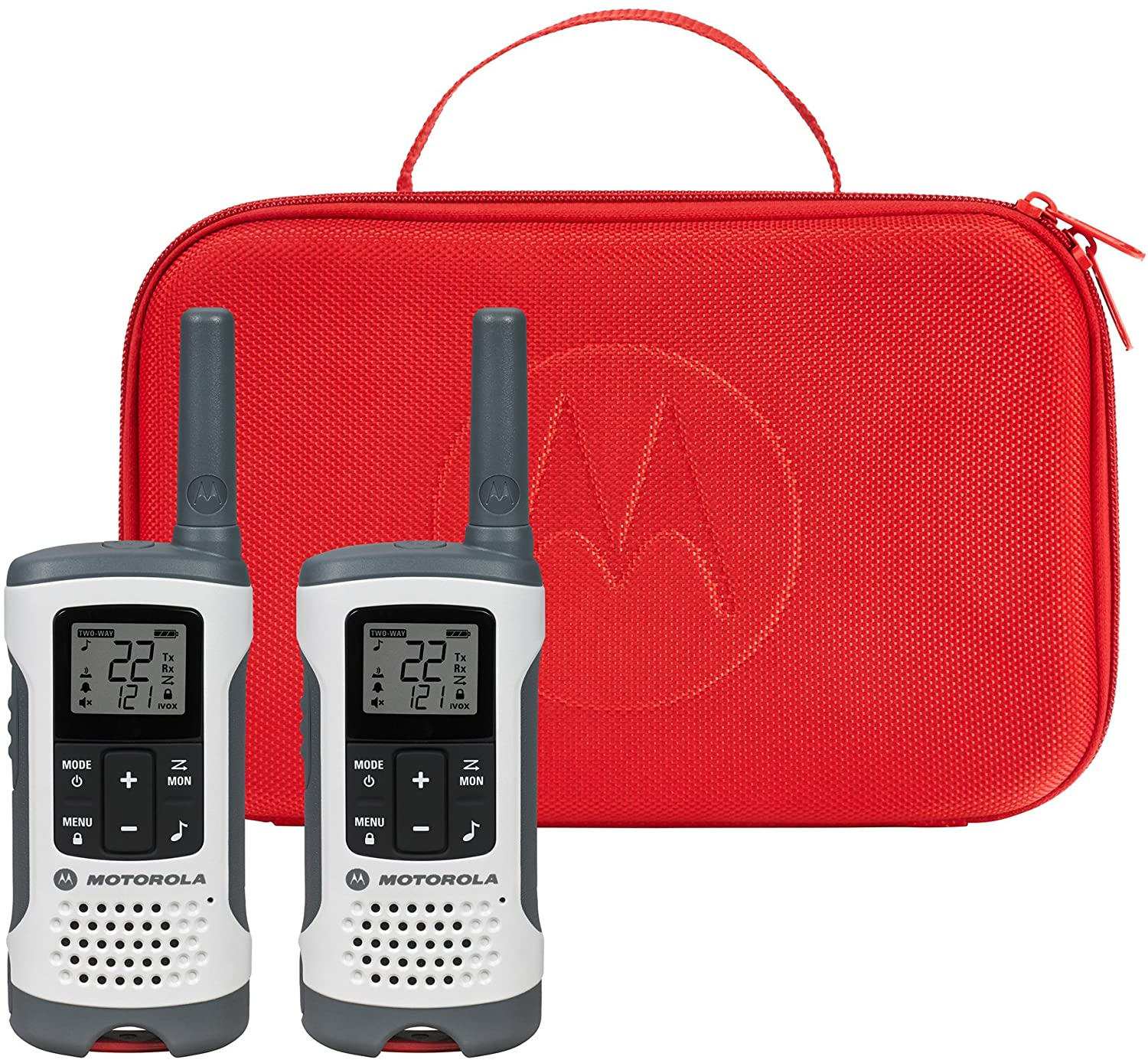 Motorola Talkabout T280 Rechargeable Two-Way Radio Bundle