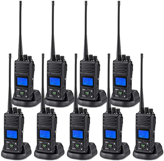 SAMCOM 5 Watts Two Way Radio Long Range Handheld UHF Business Ham Radio