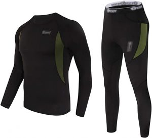 CL convallaria Thermal Underwear Set Winter Hunting Gear