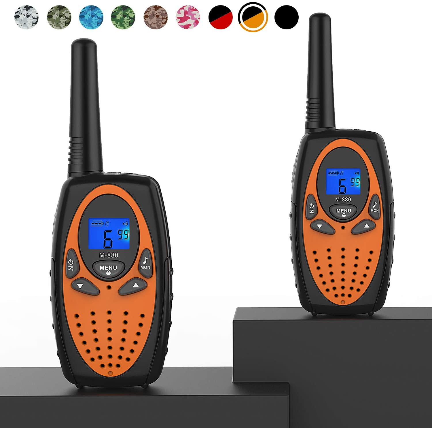 Topsung Two Way Radios for Adults, M880 FRS