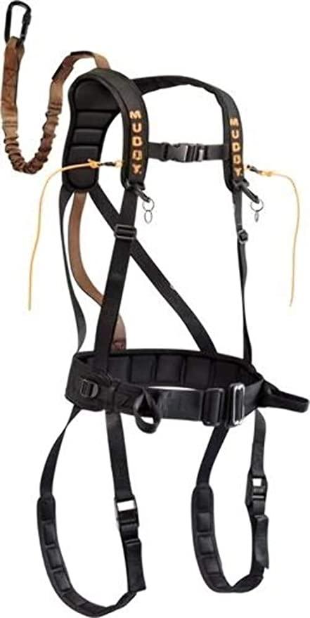 Muddy Safeguard Harness, Large, Black