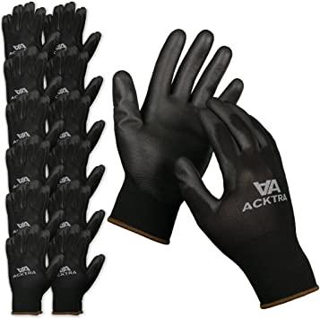 ACKTRA Ultra-Thin Polyurethane Coated Gloves