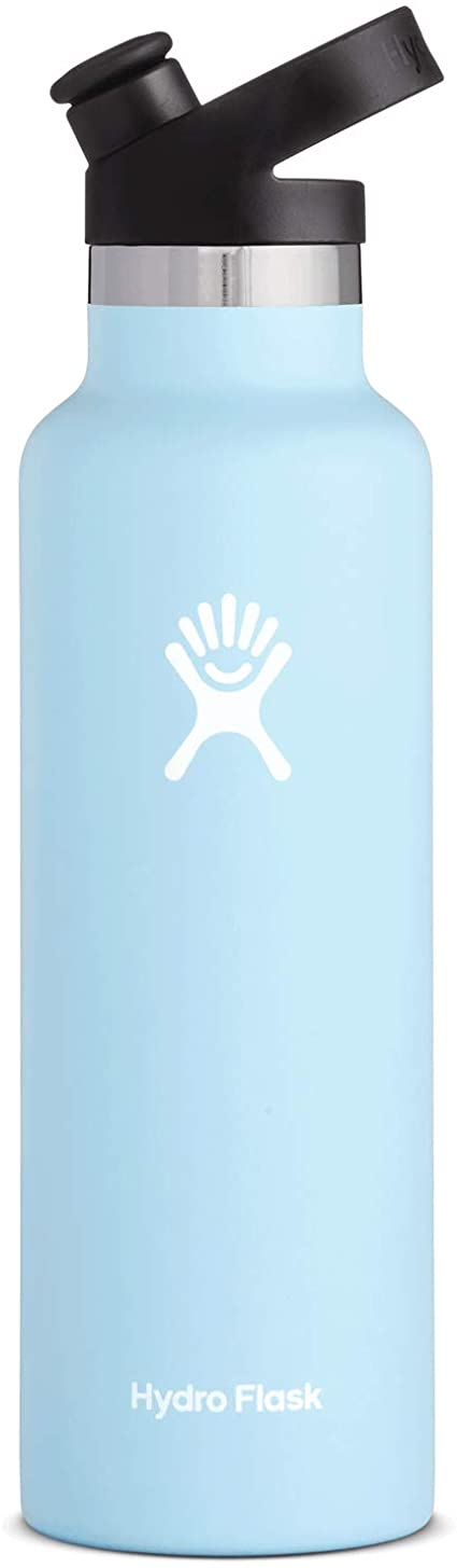 Hydro Flask 21 oz Water Bottle, Sport Cap
