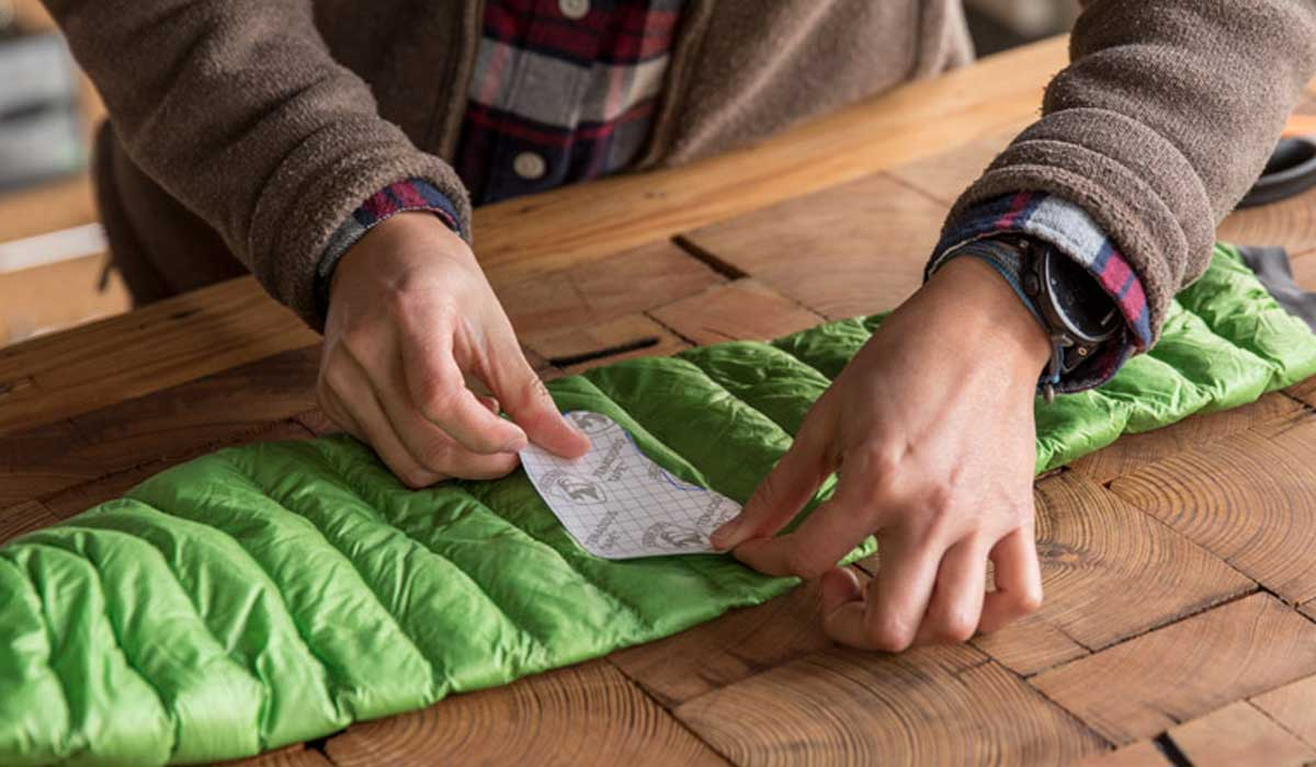 How to Patch a Down Jacket