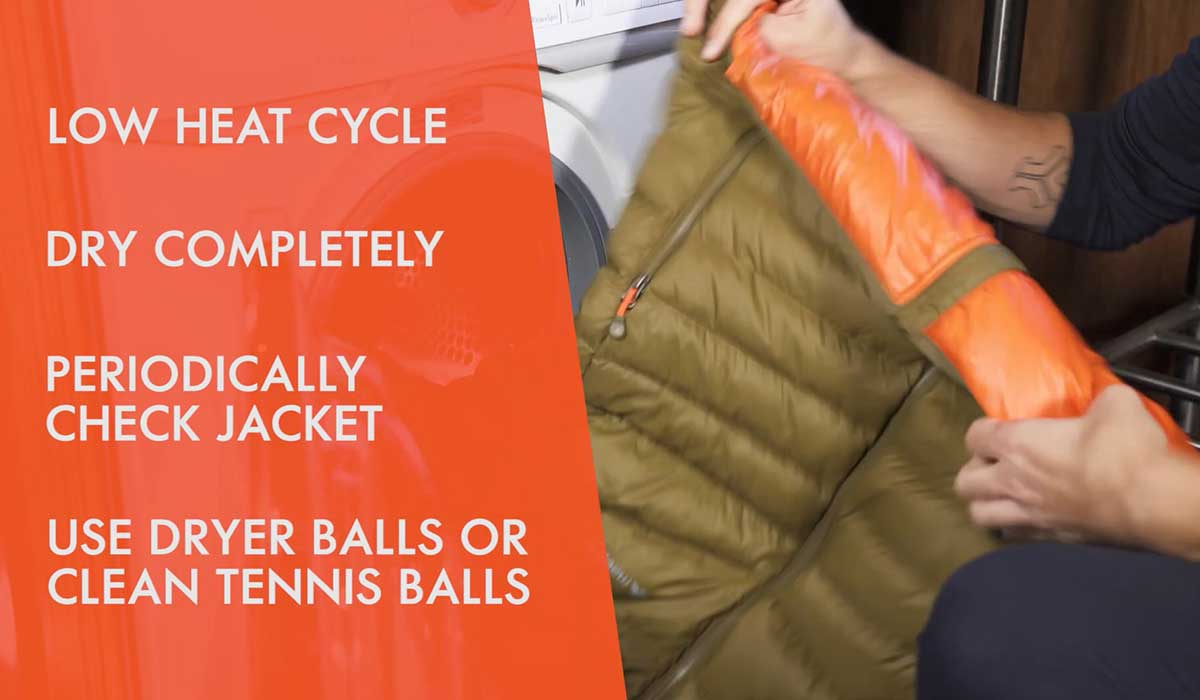 What To Avoid When Washing A Down Jacket