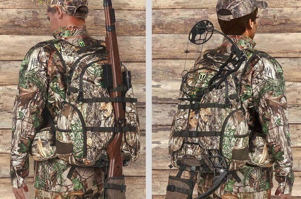 TIDEWE Hunting Backpack, Waterproof Camo Hunting Pack with Rain Cover