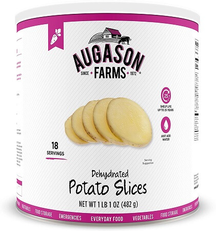 Augasion Farms Dehydrated Potato Slices